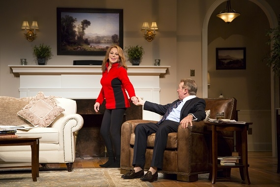 Marlo Thomas and Greg Mullavey in Joe DiPietro's Clever Little Lies at George Street Playhouse.