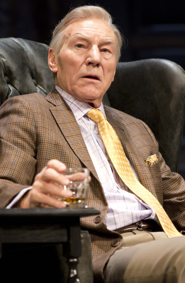 Patrick Stewart in Harold Pinter's No Man's Land.