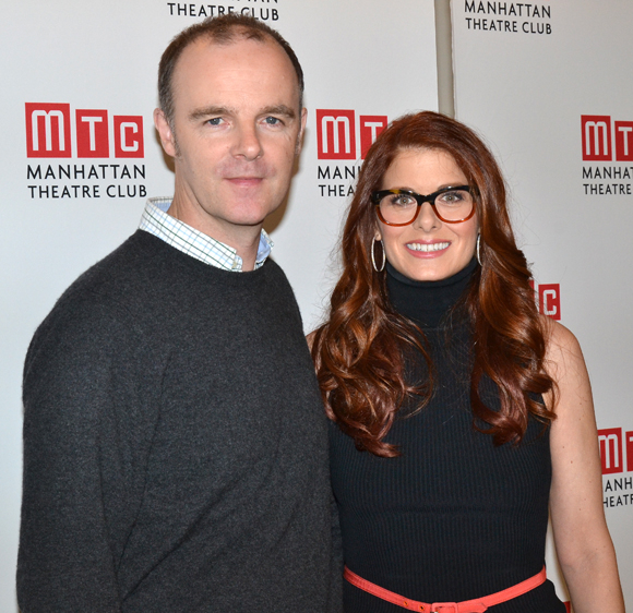 Brian F. O'Byrne and Debra Messing lead the cast of John Patrick Shanley's Outside Mullingar.