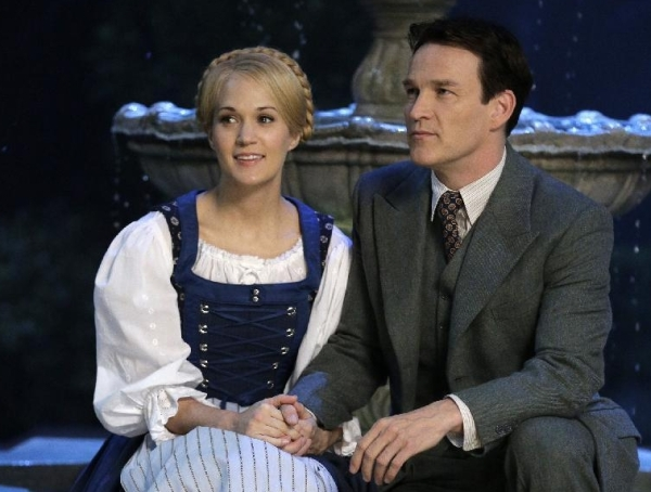 Carrie Underwood and Stephen Moyer in The Sound of Music Live!