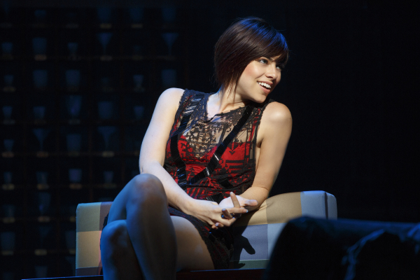 Krysta Rodriguez as Casey in First Date on Broadway.