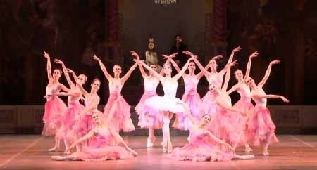 A scene from Boston Ballet's The Nutcracker.