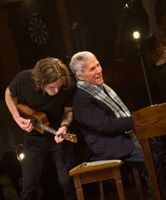 Burt Bacharach accompanies Kyle Riabko during a special encore after What's It All About? Bacharach Reimagined.