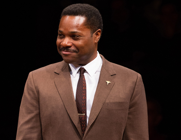 Malcolm-Jamal Warner in Guess Who's Coming to Dinner at Arena Stage.