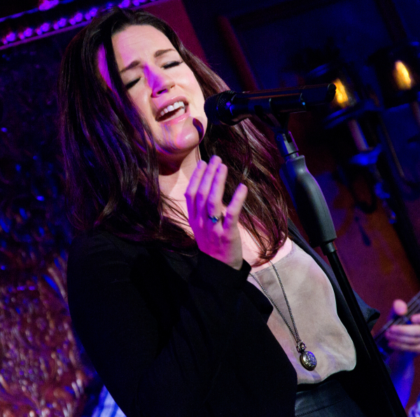 Carrie Manolakos in Hit List at 54 Below.