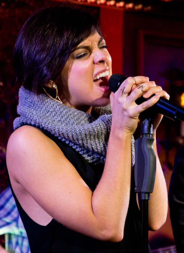 Krysta Rodriguez in Hit List at 54 Below.