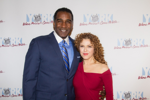 The ceremony was hosted by Norm Lewis with a special performance by Bernadette Peters.