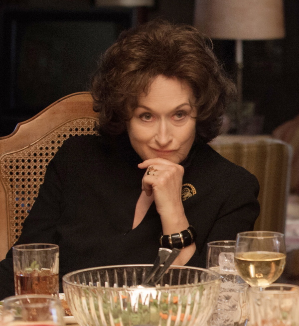 Meryl Streep in the film adaptation of August: Osage County.