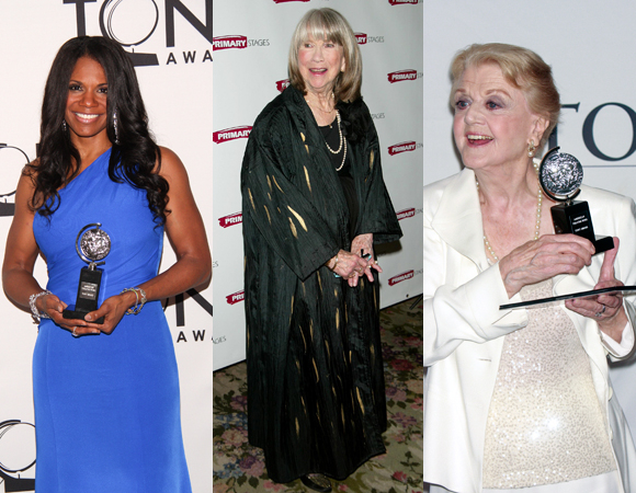 Audra McDonald, Julie Harris, and Angela Lansbury are all five-time Tony Award winners.