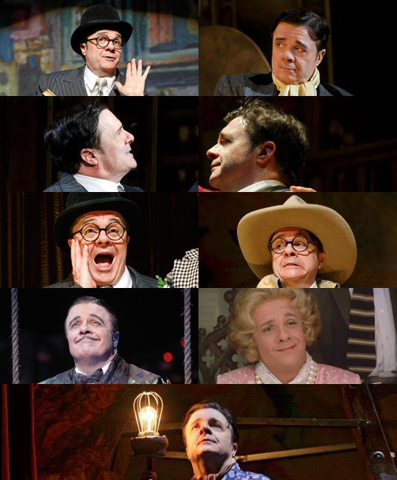 Nathan Lane in The Nance (and other shows)