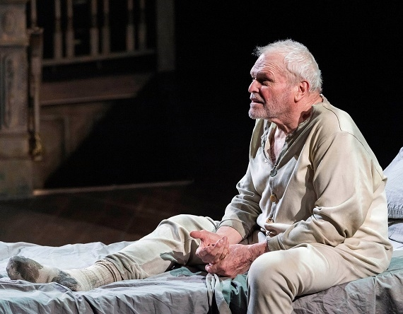 Brian Dennehy in Sebastian Barry's The Steward of Christendom at L.A.'s Center Theatre Group/Mark Taper Forum.