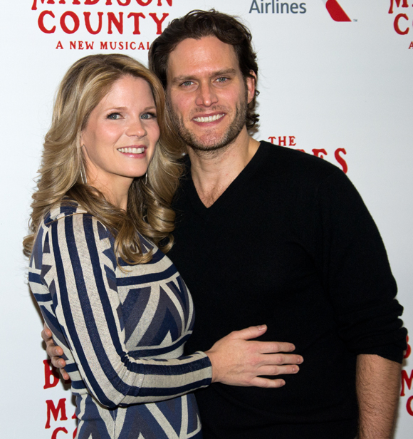 Kelli O'Hara and Steven Pasquale star in The Bridges of Madison County.