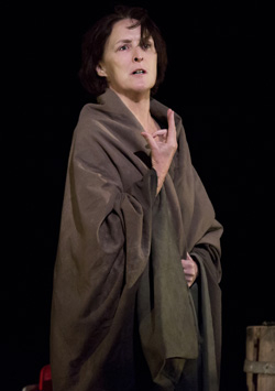 Fiona Shaw as the Virgin Mary in The Testament of Mary.