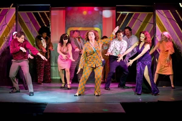 Mary Testa gets her '70s groove on in Disaster!, now running at St. Luke's Theatre.