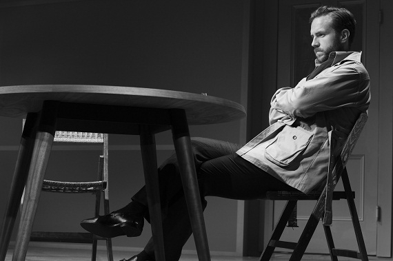 Rafe Spall as Jerry in Harold Pinter's Betrayal, sold out at the Barrymore Theatre on Broadway.