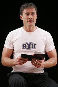 Steven Fales in Confessions of a Mormon Boy.