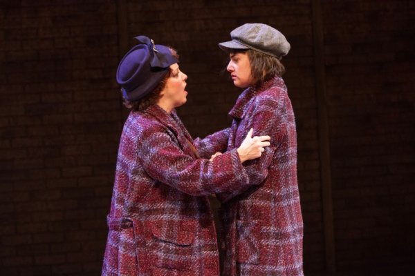 Sherri L. Edelen and Maria Rizzo in Gypsy at Arlington, Virginia's Signature Theatre.