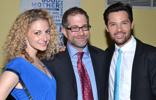Marry Me a Little stars Lauren Molina and Jason Tam will celebrate their cast recording with director Jonathan Silverstein (center) at Barnes & Noble.