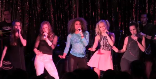 Cast members from the 2013 performance of Broadway Loves the Spice Girls at the Canal Room.