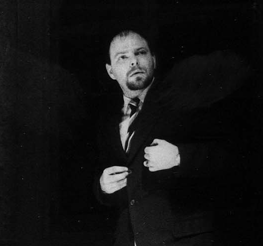 Frank Vercruyssen as Dr. Tomas Stockman in JDX — a public enemy.
