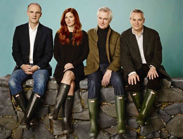 Brían F. O'Byrne, Debra Messing, John Patrick Shanley, and Doug Hughes spoke to TheaterMania about creating Outside Mullingar.