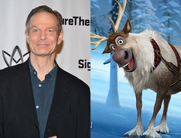 Bill Irwin/ Sven of Frozen