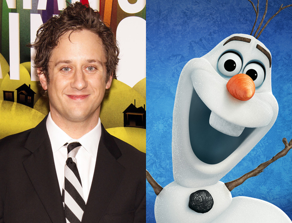 Christopher Fitzgerald/ Olaf of Frozen