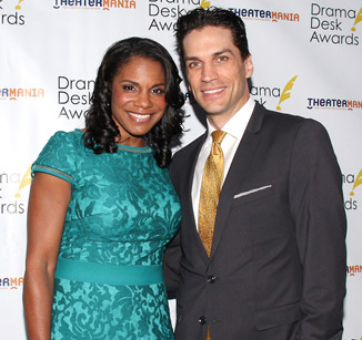 Audra McDonald and husband Will Swenson will partcipate in a Valentine's Day reading Shakespeare's Venus and Adonis with the Public Forum Drama Club.