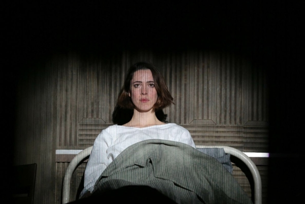 Rebecca Hall makes her Broadway debut in Sophie Treadwell's Machinal, directed by Lyndsey Turner, at the American Airlines Theatre.