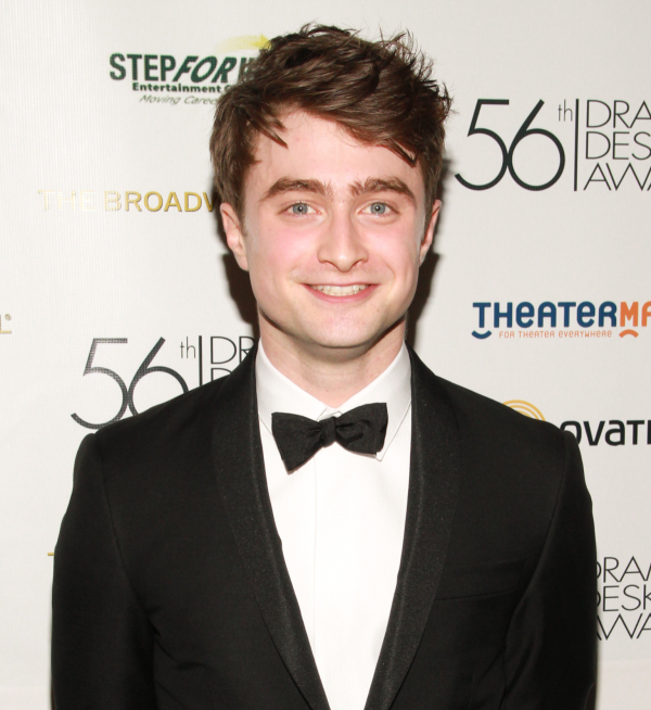 Harry Potter star Daniel Radcliffe has made the 2014 WhatsOnStage Awards shortlist for his performance in The Cripple of Inishmaan.