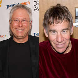 Alan Menken and Stephen Schwartz are the songwriters behind The Hunchback of Notre Dame, set to make its U.S. premiere at La Jolla Playhouse.