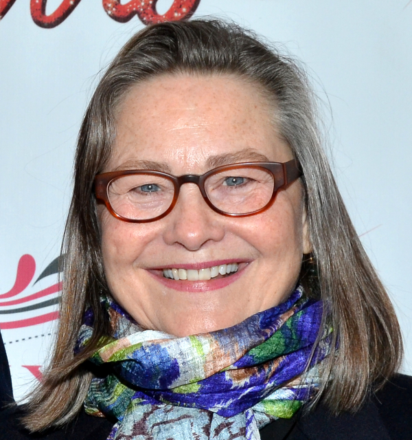 The Glass Menagerie star Cherry Jones was among the 2014 inductees into Broadway's Theater Hall of Fame, housed within the Gershwin Theatre.