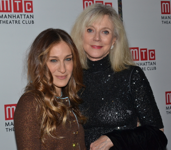 Sarah Jessica Parker and Blythe Danner play daughter and mother in Amanda Peet's The Commons of Pensacola, directed by Lynne Meadow, at Manhattan Theatre Club.