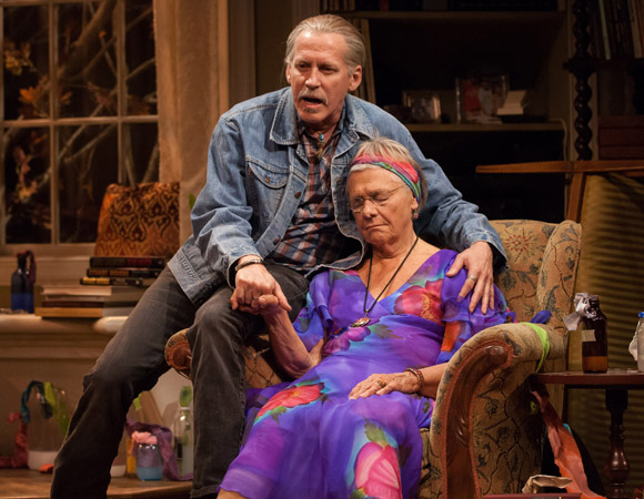 Stephen Spinella and Estelle Parsons costar in The Velocity of Autumn, coming to Broadway's Booth Theatre this spring.