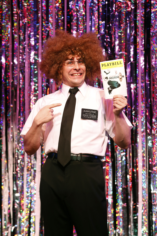 Marcus Stevens from the original cast of Gerard Alessandrini's Forbidden Broadway: Alive and Kicking.