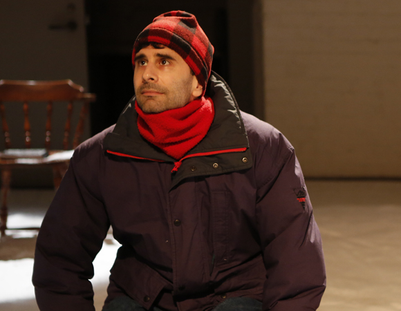 John Cariani stars in The Transport Group's New York revival of his romantic comedy-drama, Almost, Maine, a play that initially closed after a month off-Broadway in 2006 and has since been seen around the world.