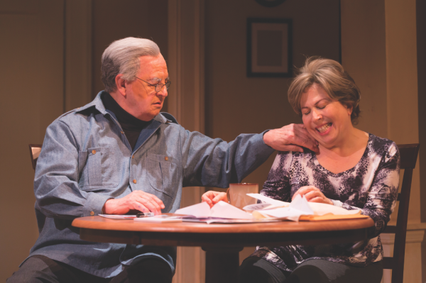 Writing-and-performing husband-and-wife duo Paul Dooley and Winnie Holzman in One of Your Biggest Fans at New Brunswick, New Jersey's George Street Playhouse.