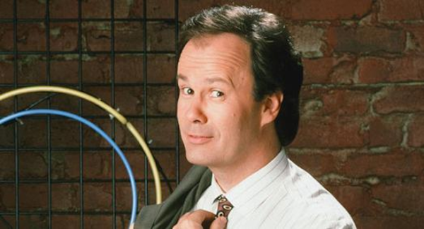 Dennis Haskins as Mr. Belding in the TV series Saved by the Bell, now being lovingly parodied in Bayside! The Musical! at Theatre 80.