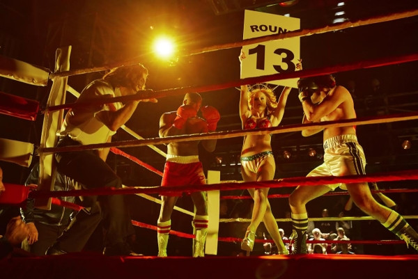 A scene from the Hamburg production of Rocky.