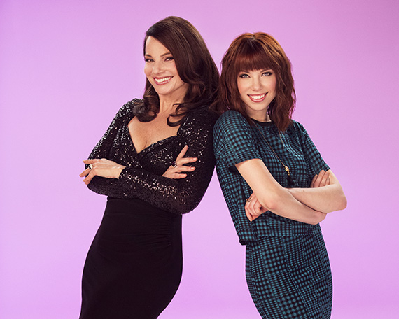 Fran Drescher and Carly Rae Jepsen of Broadway's Cinderella.