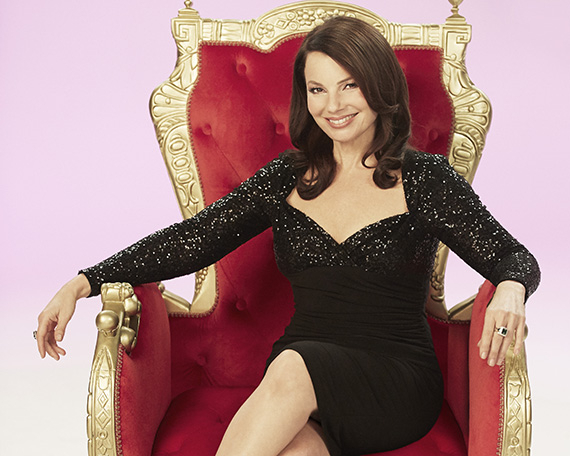 Fran Drescher assumes her throne as evil stepmother Madame in Broadway's Cinderella.