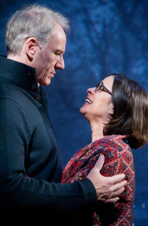 Spouses Brian and Diane Sutherland in the 2011 Signature Theatre production of A Second Chance, coming to the Public Theater this March.