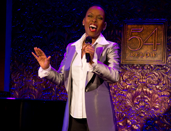 Tony nominee Brenda Braxton will reunite with the cast of Smokey Joe's Café at 54 Below on February 9.