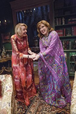 Julie Halston and Charles Busch have worked together for over 30 years.