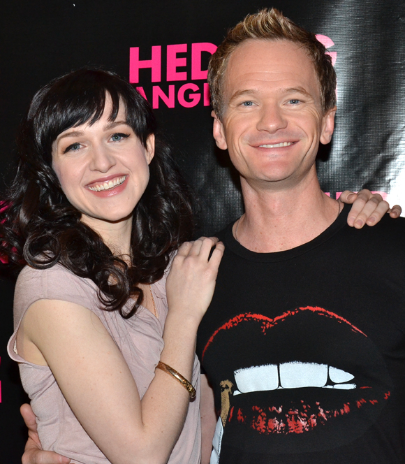 Lena Hall and Neil Patrick Harris star as Yitzhak and Hedwig in the upcoming Broadway premiere of Hedwig and the Angry Inch.