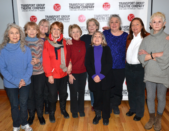 Lynn Cohen, Rita Gardner, Heather MacRae, Marni Nixon, Alice Cannon, Phyllis Somerville, Letty Serra, Barbara Andres, Dale Soules, and Barbara Barrie star in the Transport Group's upcoming revival of I Remember Mama, directed by Jack Cummings III, at The Gym at Judson.