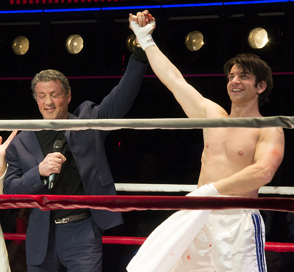 Sylvester Stallone steps into the ring to crown Andy Karl Broadway's Rocky Balboa.