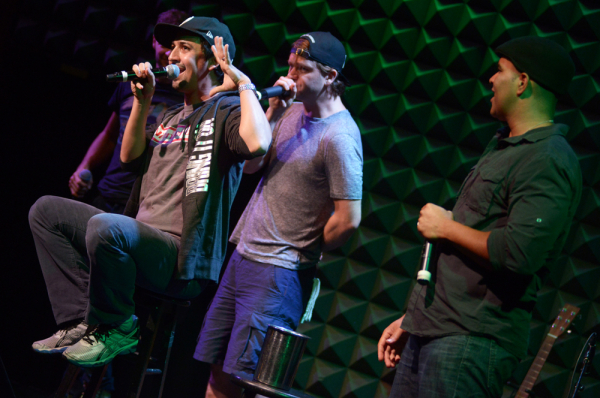 Lin-Manuel Miranda and the members of Freestyle Love Supreme. The improv hip hop group will be among the guest speakers at the TEDx Broadway conference on February 24.
