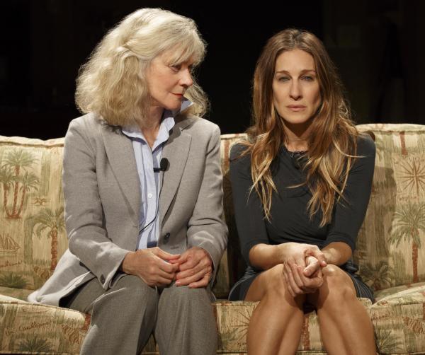 Blythe Danner and Sarah Jessica Parker in Amanda Peet's The Commons of Pensacola at Manhattan Theatre Club. Northlight Theatre Company's 40th season will include the play's first regional production.
