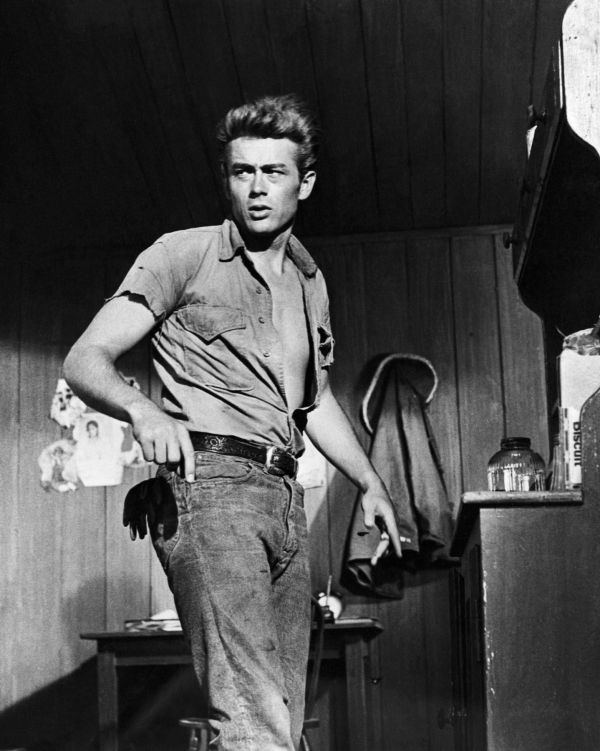 James Dean in the 1956 film Giant.